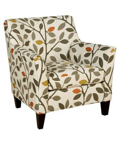 """Ava Fabric Accent Chair, 33""""W x 36""""D x 34""""H"""