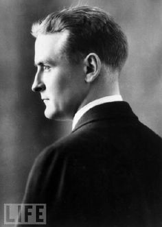"Scott Fitzgerald: ""First you take a drink, then the drink takes a drink, then the drink takes you."""