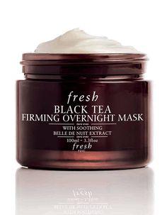 Black Tea Firming Overnight Mask, Fresh, 96€ - Crème de nuit : pourquoi on s'y met ? - Elle