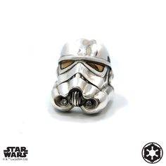Storm Trooper #HanCholo #HanCholoDesigns #HanCholoJewelry #MensJewelry #Jewelry #MensAccessories #StarWars #StormTrooper #Silver #Ring #Gold #Eyes #Helmet