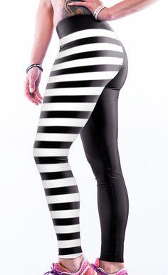 f0d32fa23673d  24.99 Stripe Skull Digital Print Elastic Sports Yoga Pants Cheap Leggings