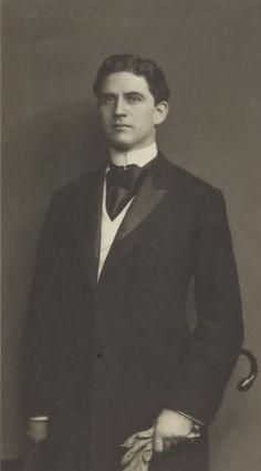 Handsome vintage gentleman