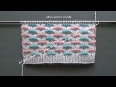 Baby Vest, Baby Knitting Patterns, Baby Quilts, Blanket, Crochet, Youtube, Tricot, Knitted Gloves, Dots