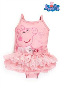 Buy Peppa Pig™ Tutu Swimsuit from the Next UK online shop Pig Girl, My Baby Girl, Toddler Outfits, Girl Outfits, Toddler Girls, Peppa Pig Outfit, Ballerina Tutu, Pink Tutu, Swimming Costume