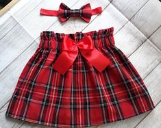 Items similar to Red tartan toddler skirt and headband set, Christmas outfit, baby girls Christmas outfit , tartan skirt, lined toddler skirt on Etsy Red Tartan Kleinkind Rock und Stirnband Set Weihnachts-Outfit Baby Girl Fashion, Toddler Fashion, Toddler Outfits, Kids Outfits, Rock Outfits, Couple Outfits, Edgy Outfits, Party Outfits, Girls Christmas Outfits
