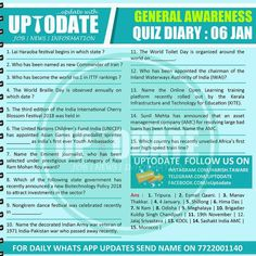 General Awareness #Quizdiary : 06 Jan World Toilet Day, Pipeline Project, Gas Pipeline, Planning Board, Research Institute, Human Development, Finance, Writer, Organization