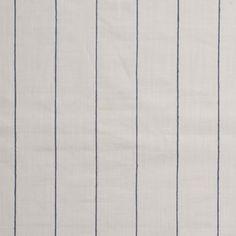 Polished Pin Stripe Ivory/Navy