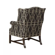 Hickory Chair - James River Chippendale Wing Chair