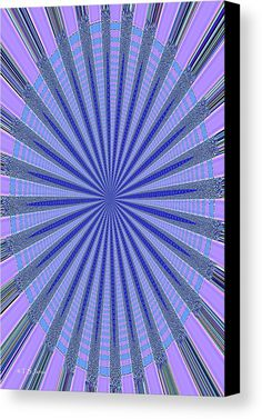 Blue Star Canvas Print by Tom Janca.  All canvas prints are professionally printed, assembled, and shipped within 3 - 4 business days and delivered ready-to-hang on your wall. Choose from multiple print sizes, border colors, and canvas materials.