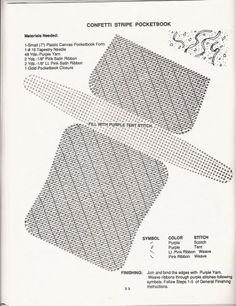 Plastic Canvas Stitches, Plastic Canvas Crafts, Plastic Canvas Patterns, Crochet Poncho With Sleeves, Tent Stitch, Canvas Purse, Crochet Diagram, Mini Purse, Needlepoint