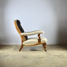 Library Chair - Decorative Collective Antiques Online, Selling Antiques, Library Chair, House Numbers, Sofas, Cool Designs, Upholstery, Furniture, Home Decor