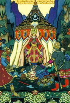 Russian Fairy Tales  Tale about Golden Cock  Мы знаем, что ничего не знаем. Мы видим, что ничего не видим