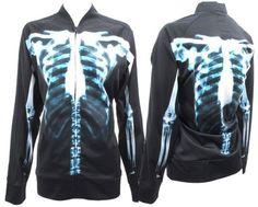 Jeremy Scott Adidas Skeleton track top