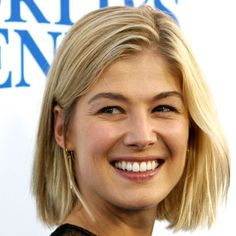Rosamund Pike with bob - Bob Hairstyles: This Season's Hottest Celeb Cut