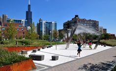 Mary Bartelme Park   Landscape Urbanism -- my new park.