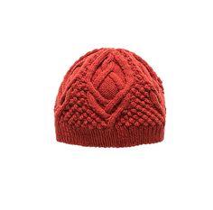 Вязаная шапка Huck Дизайнер Нора Гоган.