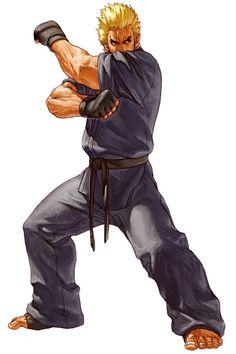 mr karate and ryou sakazaki (buriki one, neo geo battle coliseum, ryuuko no ken, and snk) drawn by ogura eisuke - Danbooru Game Character Design, Character Design Inspiration, Character Art, Art Of Fighting, Fighting Games, Fanarts Anime, Manga Anime, Karate, Snk King Of Fighters