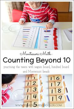 Learning how to count beyond 10