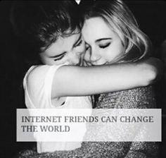 Yeah internet friends are the best, especially when you don't have quite as many in real life. Internet Friends Quotes, True Friends, Best Friends, Quotes Distance, Long Distance Friends, Attitude, Best Friend Goals, Friendship Quotes, Online Friendship