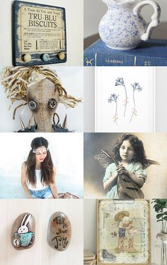 Tea and biscuits by Gioconda Pieracci on Etsy--Pinned+with+TreasuryPin.com