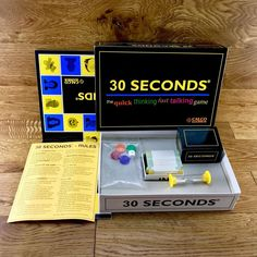Board Game 30 Seconds 1998 Superb Condition Throughout Family Party Games VGC Family Party Games, Quick Thinking, Game Sales, 30 Seconds, Board Games, Ebay, Family Board Games, Tabletop Games, Table Games