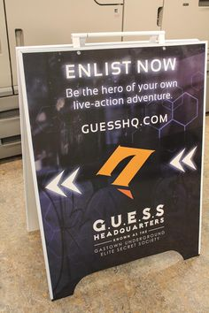 Sign up now and be the first to uncover Gatown's darkest secret! #GuessHQ