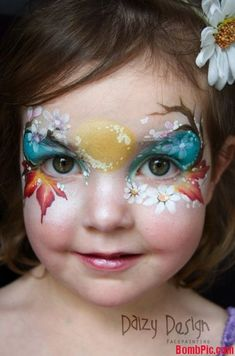 Fall face painting