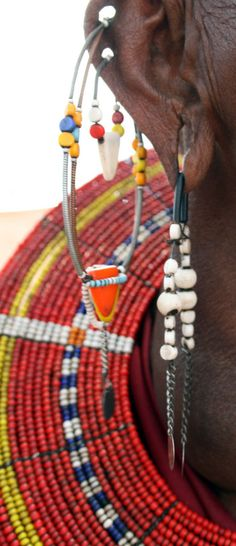 african jewelry for women | Serious piercings and jewellery - :: louder than swahili