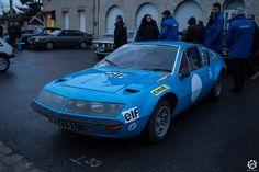 #Alpine #A310 au rallye Hivernale Vallée. Reportage complet : http://newsdanciennes.com/2015/11/29/retour-a-lhivernale-vallee/ #Voitures #Anciennes #Vintage #ClassicCar