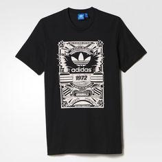 391d15cf7ef adidas - Camiseta Old School Camisetas Masculinas