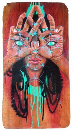 Arte Dope, Dope Art, Art And Illustration, Illustrations, Mundo Hippie, Dope Kunst, Art Visionnaire, Art Magique, Psychadelic Art