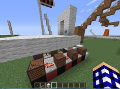 """Student created #minecraft tutorial: How to Make a Doorbell to """"Do You Wanna Build a Snowman"""" #redstone"""