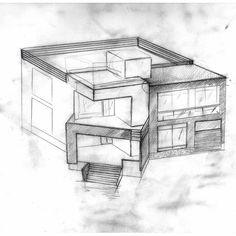@dmudrovkin: Рисую новый дом M.D. #art #architecture #disign #new #newschool #home #house #hitech #дом #дизайн… http://t.co/MUFrJBzLnm