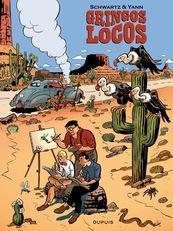 Jijé, Franquin, Morris : avant d'être des monuments de la BD franco-belge, ils rêvaient de conquérir l'Amérique et les prestigieux studios Disney. C'est cette improbable épopée américaine que nous racontent Yann et Schwartz dans Gringos Locos (Dupuis).
