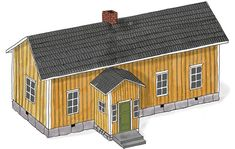 House Landscape, Hygge, Shed, Cozy, Outdoor Structures, Country, Architecture, Places, Empire