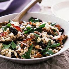 wheat berry salad with bacon wheat berry salad with bacon myrecipes ...
