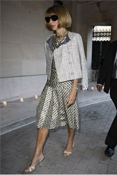Anna Wintour-The Fashion Heiress!