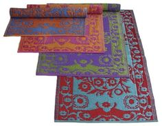 These add color to my bathroom. Patio Rugs, Outdoor Area Rugs, Picnic Blanket, Outdoor Blanket, Play To Learn, Dream Decor, Room Rugs, Houzz, Oriental Rug
