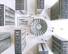 "Zupagrafika's ""Eastern Block"" Series Brings Warsaw to Life in Paper"