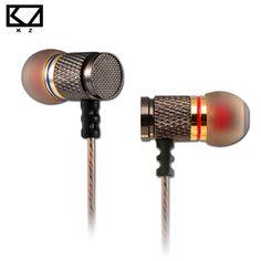 KZ ED2 Earphones 3.5mm jack Noise Cancelling Ear Plugs Music In Ear Earbuds DJ XBS BASS Ear Phones Metallic Earphones for HTC