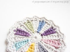 I have a new crochet pattern for you to try! It's a wonderful yarn stash buster, and if you aren't bothered by clingy toddlers or demanding husbands, you could make more than a couple in an afterno...