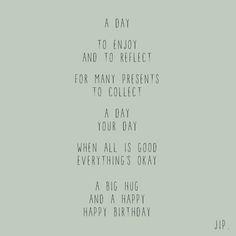 Verjaardag Versje Kaartje Met Een Gedichtje Om Iemand Te