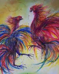 Resultado de imagen de gallos de pelea painten