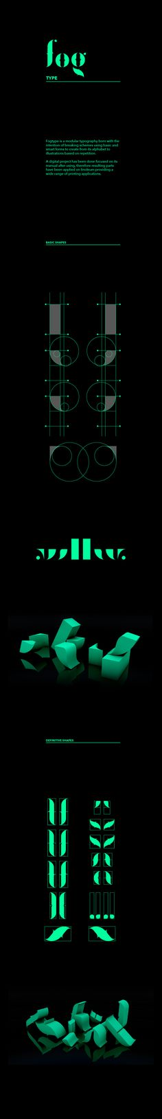 Fogtype (free font) on Behance