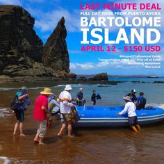 Check out this #GalapagosLastMinuteDeal for a Bartolomé Island Day Trip.   - Date: Apr 12. 2018 - Price 150 USD per person.   Contact us or read more on this trip here:  http://ift.tt/2AQvFLd - facebook.com/rlwonderland
