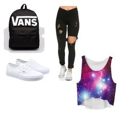 """School"" by kenziea15 on Polyvore featuring Vans, women's clothing, women's fashion, women, female, woman, misses and juniors"
