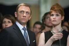 Quantum of Solace (2008): Daniel CRAIG (James Bond) & Gemma ARTERTON (Strawberry Fields)