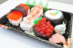 Sushi Soap Gift Set  Ginger Fizz Scented  por AubreyEApothecary