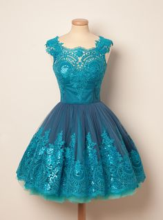 Add some sugar and spice to a party with a dessert dress made of turquoise marzipan and a dash of sequins glaze. Never say no to serving itwhile wearing your roller skates to the dance.