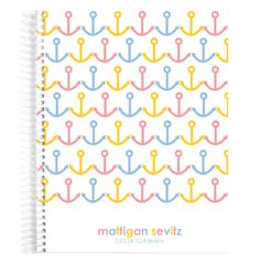 Designer Classic Notebook, featuring Delta Gamma love! Check it out sisters! This isn't something you'll want to miss!!